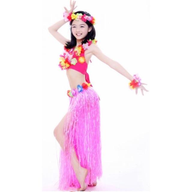Lovely Hawaii Children Belly Dance Costume