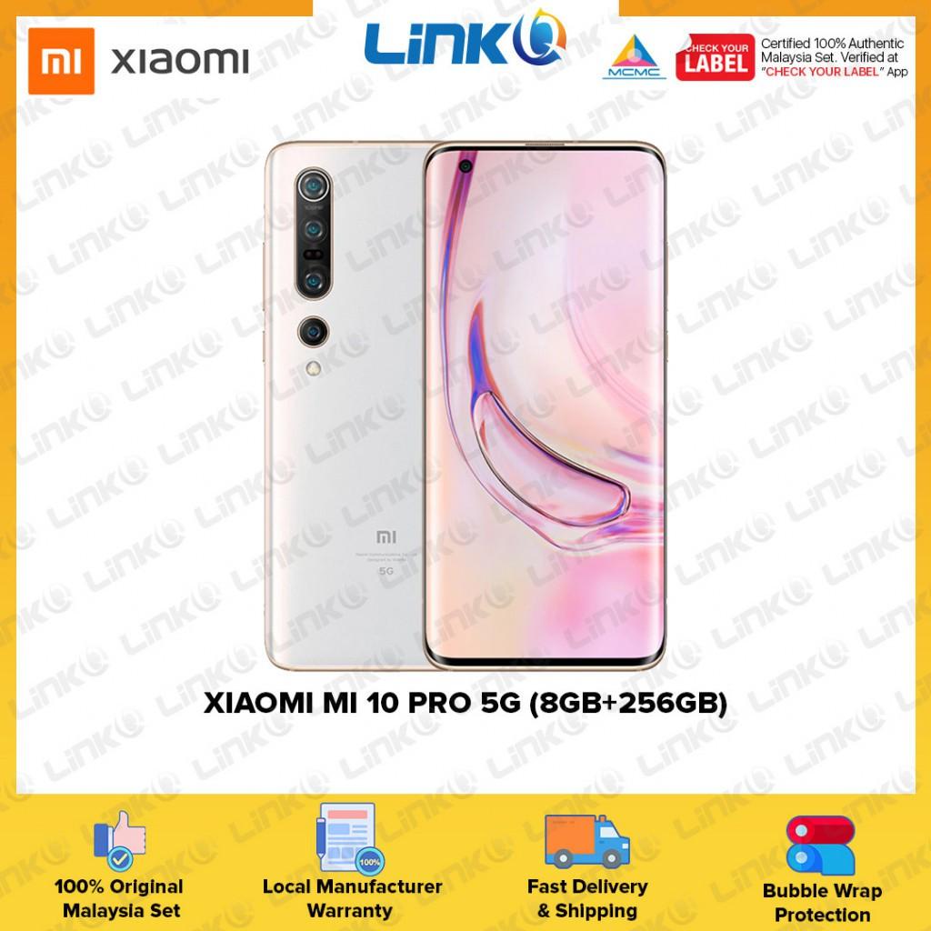 Xiaomi Mi 10 Pro 5G (8GB RAM + 256GB ROM) Smartphone - Original 2 Year Warranty by Xiaomi Malaysia (MY SET)
