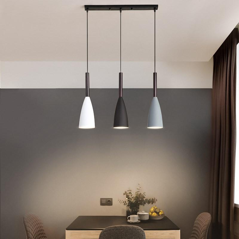 Pendant Lights Over Dining Table