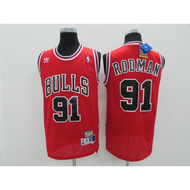 designer fashion 1faf2 8a633 cod Chicago Bulls Dennis Rodman NBA Jersey #91 sell well