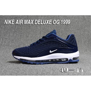 size 40 b6ebe fdf8f Nike air max deluxe OG 1999 gray black colour men running shoes