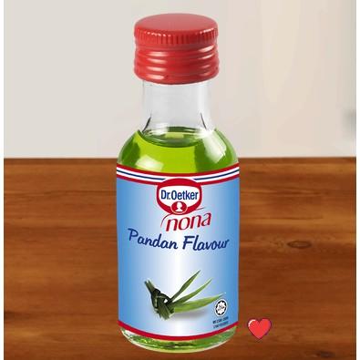 Dr.Oetker Nona Pandan Flavour 25ml ( Free Fragile + Bubblewrap Packing )