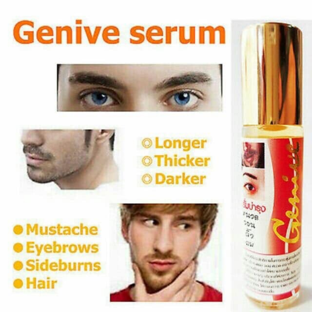 921ca018565 Genive Serum Eyebrow Hair Transplant Beard Grow Long Hair Sideburns Thicker  10ml | Shopee Malaysia