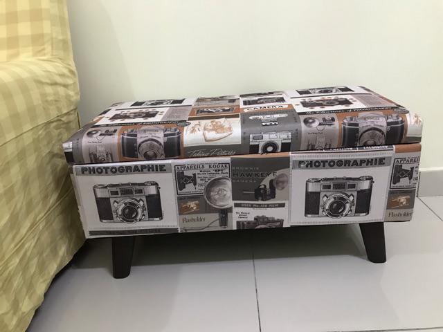 "PAMICA 3SC-SS01 Upholstered 32"" Rectangular Fabric Storage"
