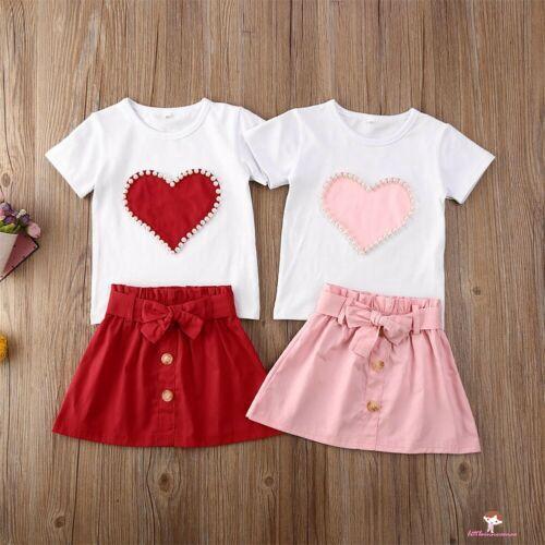Loveble 2Pcs Clothes Set Baby Girls Bowknot Dot Fly Sleeve Cute Set