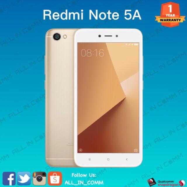 Xiaomi Redmi Note 5a Prime Global Version Shopee Malaysia