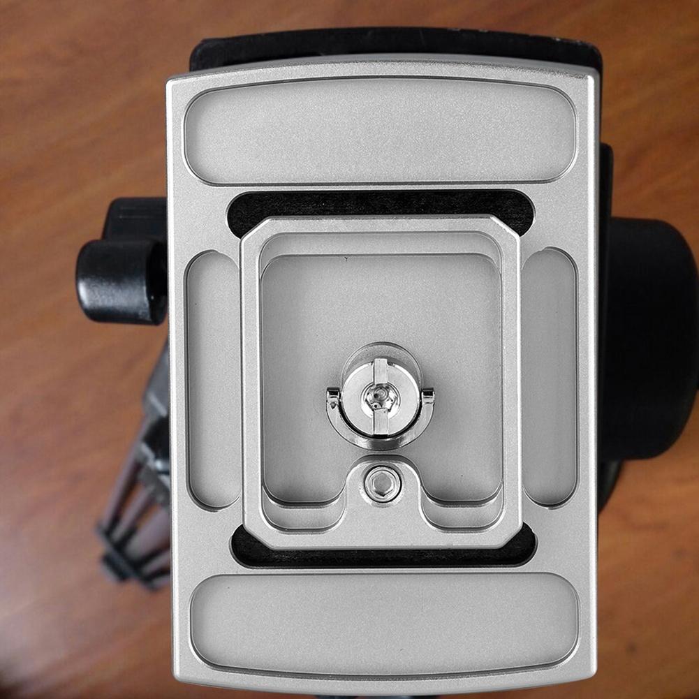 TH-650DV 1//4 Inch Mounting Screw Tripod Monopod Quick Release Plate for Camera