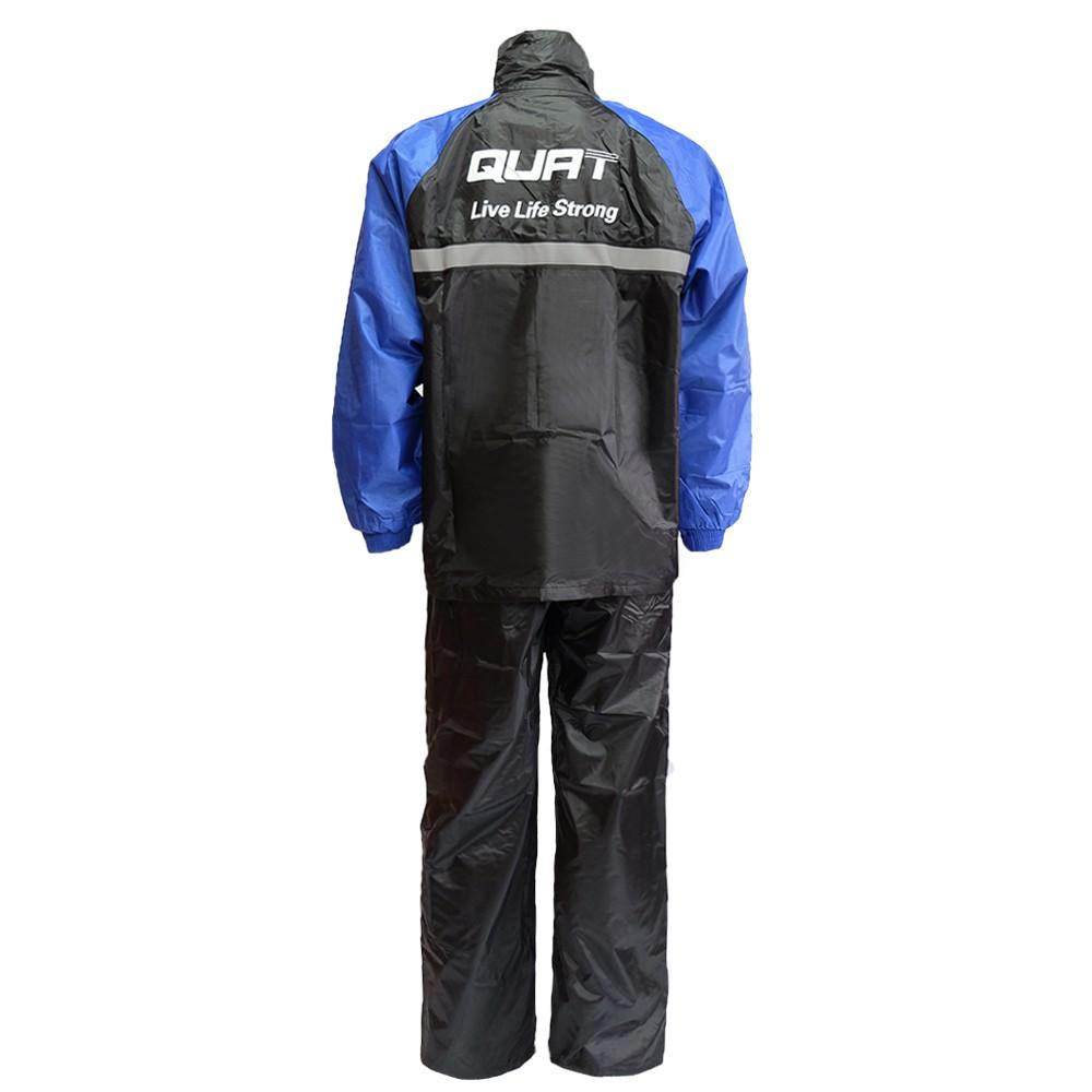 Raincoat QUAT Q22 Daily Range Baju Hujan Motorcycle (BLUE)