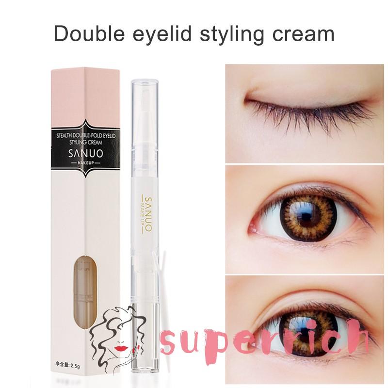 Double Eyelid Styling Cream Invisible Long Lasting Double Eyelid Shaping  Tools
