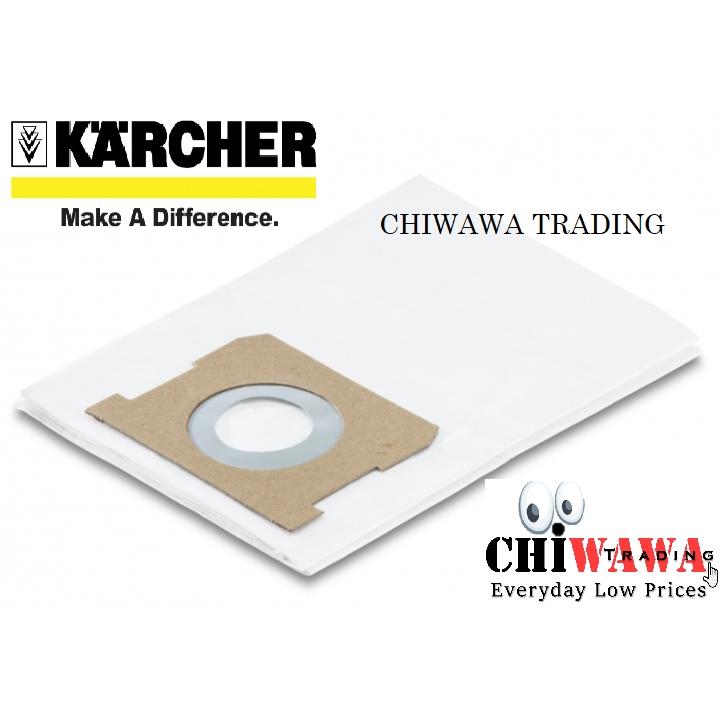 KARCHER 5 PCS x Paper Filter Bags for MV1/ WD1 Vacuum Cleaner 2.863-014.0