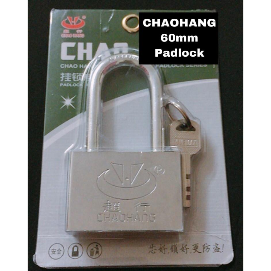 CHAOHANG Long Head Heavy Duty Brass Laminated Anti Rust Padlock Premium Quality Lock SF60L