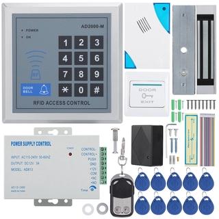 Remove Magnetic Password Control Access Machine EM-ID Card Lock Control  Doorbell