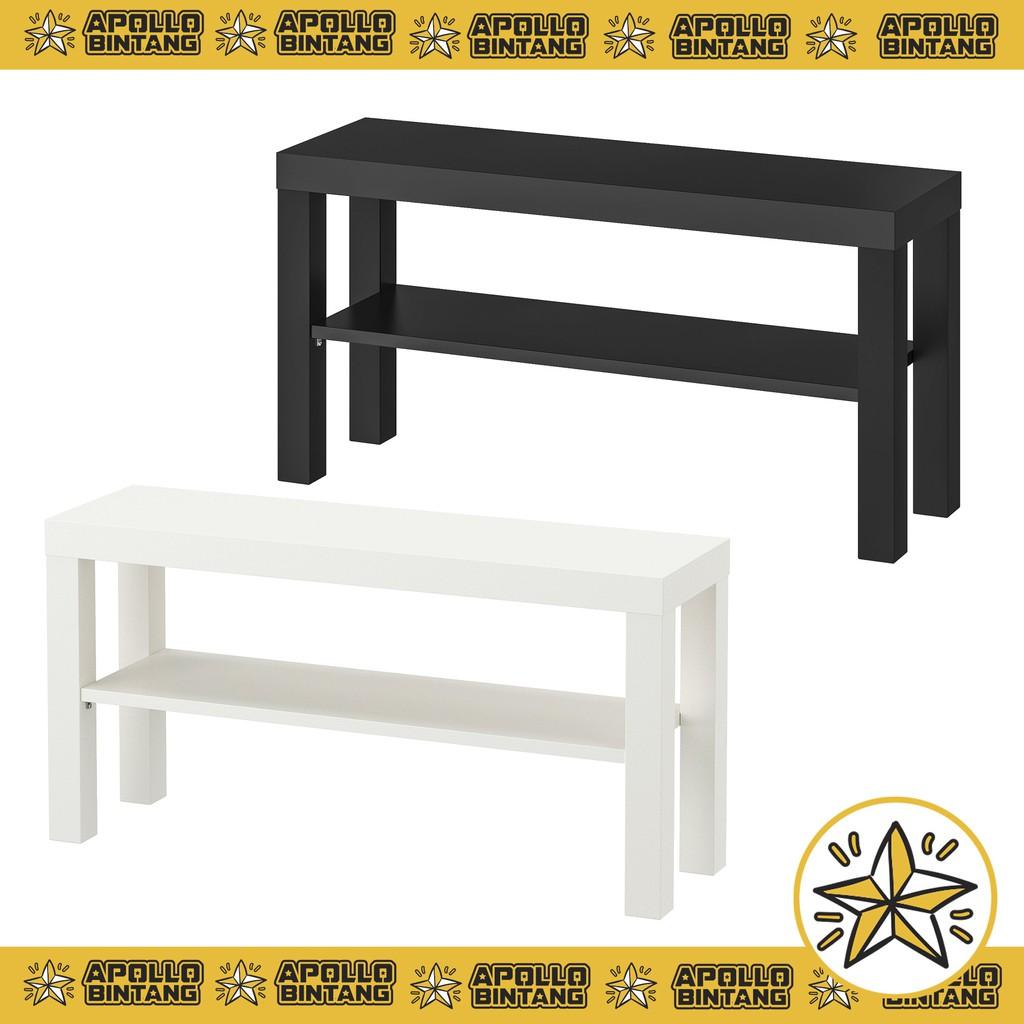 Brilliant Lack Tv Bench 90X26X45 Cm Alphanode Cool Chair Designs And Ideas Alphanodeonline