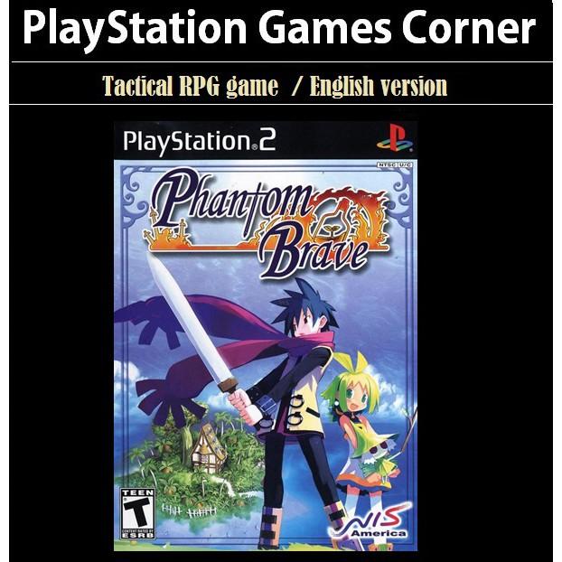 PS2 Game Phantom Brave, Tactical RPG Game, English version / PlayStation 2