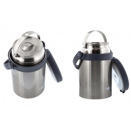 Buffalo 3.2L Thermo Carrier Pot With 2.3L Inner Pot Stainless Steel ET082