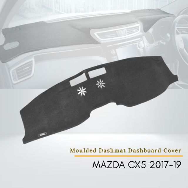 Mazda CX5 2017-2019 Car Instrument Panel Pad Instrument Panel Light-Proof Pad Cover Dashboard Cover