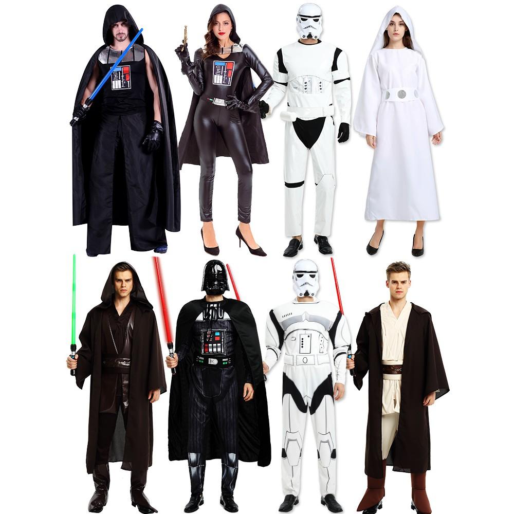 Brand New Star Wars Darth Vader Samurai Adult Costume