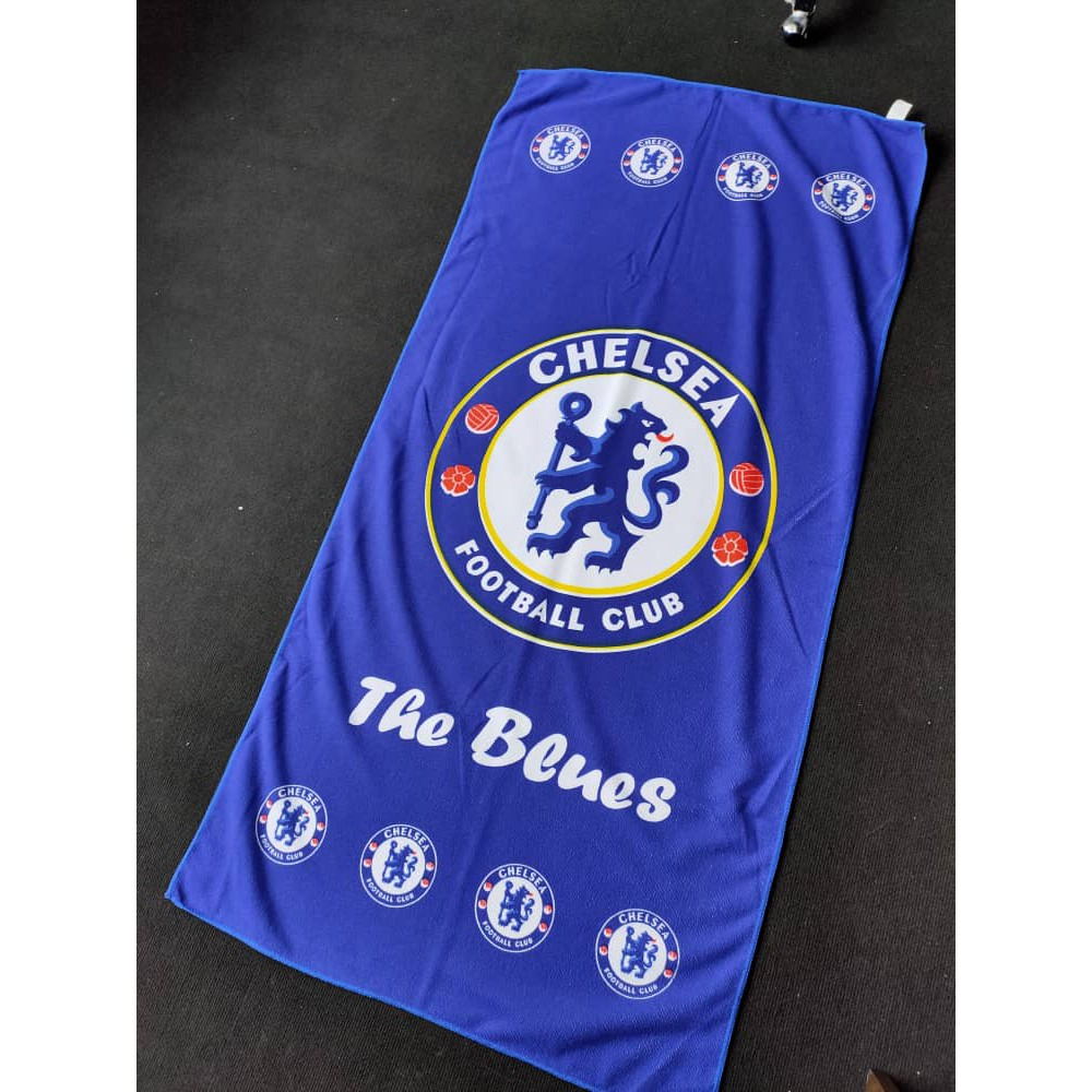 Chelsea Kelab Bola Sepak Fans Tuala Mandi Serap Air