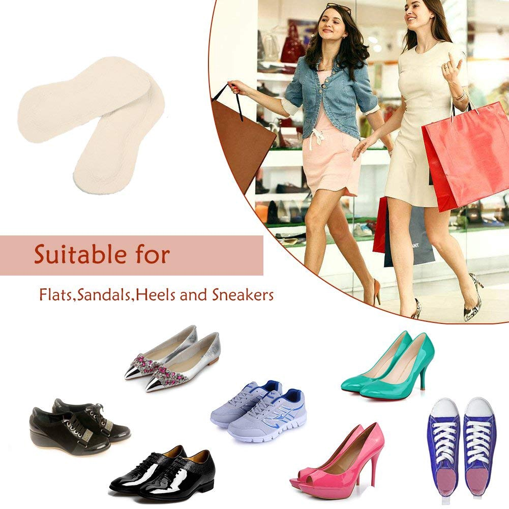 833da4875c5e8 Nanooer Leather High Heel Pads Heel Grips Liner for Shoes That are Too Big