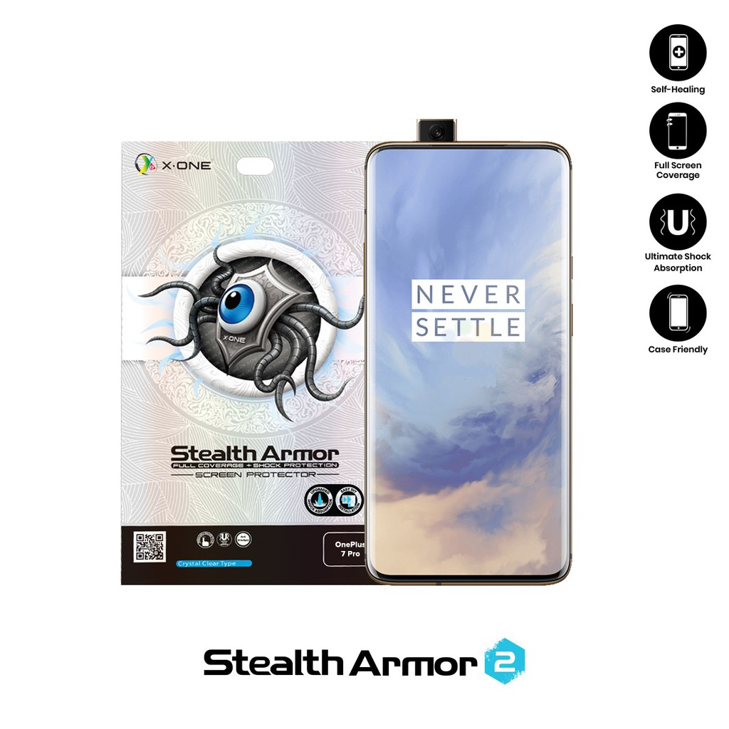 OnePlus 7 Pro X-One Stealth Armor 2 ( Upgraded Version ) Screen Protector