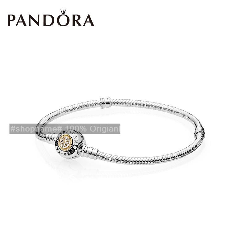 8d5a80b60 PANDORA 590741CZ_P1 New Classic Bracelet Simple Bracelet Woman DIY | Shopee  Malaysia