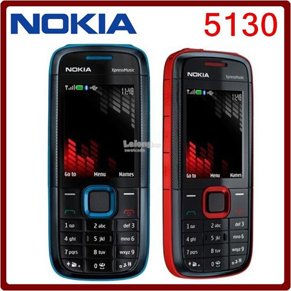 👍🔥HOT SALE🔥👍 NOKIA 5130 XpressMusic Mobile Phone (IMPORT SET)
