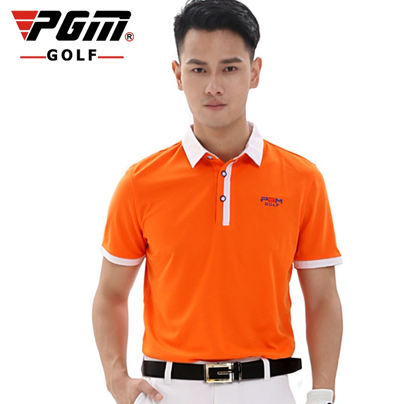 291b7d7c Pgm Golf Men Short Sleeve T-Shirt Breathable Quick-Dry Sportswear Tops  AA11816 | Shopee Malaysia