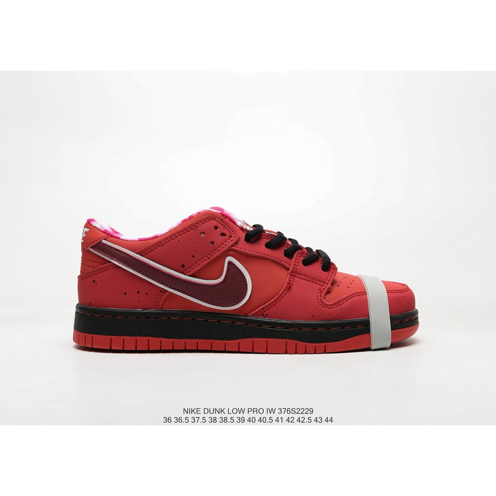 new style a6e58 ae097 Concepts x Nike SB Dunk Low Purple Red Green Lobster