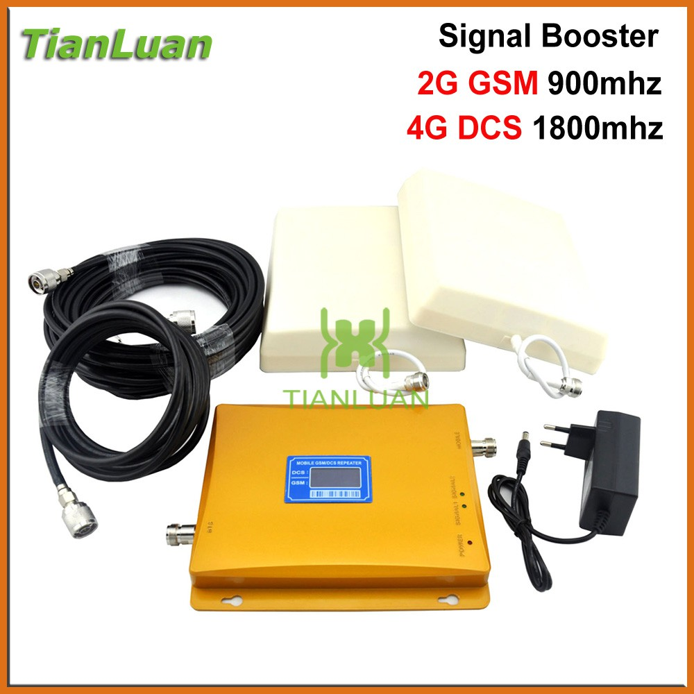 ff4f60247340d9 Mobile 2G GSM 900mhz 4G DCS LTE 1800mhz Signal Booster with Ceiling /Log  Antenna | Shopee Malaysia