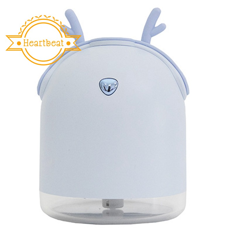 250ML Ultrasonic Air Humidifier Aroma Essential Oil Diffuser Blue
