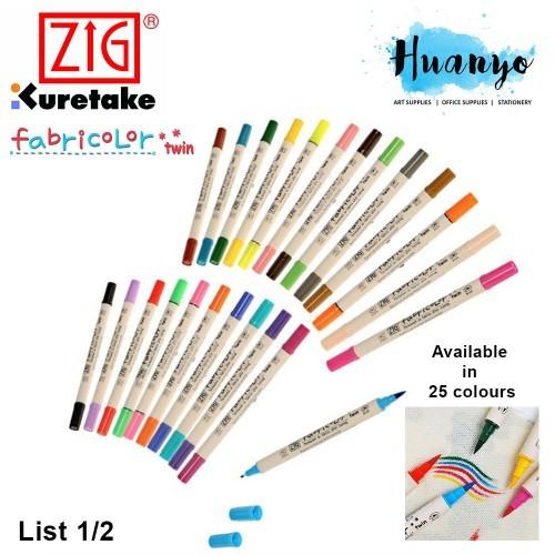 Metallic Fabricolor Marker Zig Free Shipping!