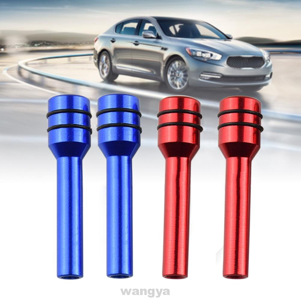 2pcs Fine Workmanship Easy Install Aluminum Alloy Truck Security Interior Door Lock Knob Decorate and Styling Your Beloved Car Light Weight and Durable in Using Car Lock Knob