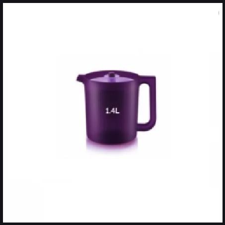 Tupperware Purple Royale Pitcher 1.4L Jag Air Jug Pitcher Mug