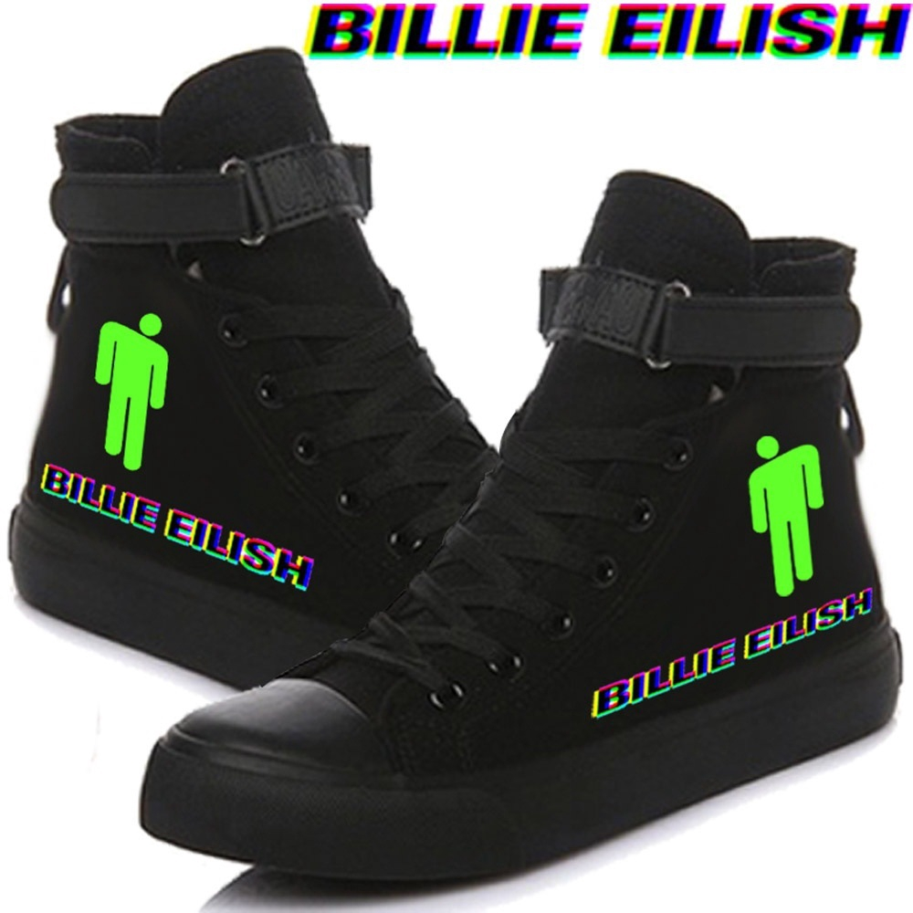 Casual Shoes for Women Breathable Billie-Eilish-Album- 2 Girl Running Shoes