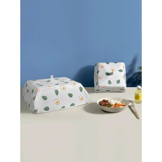 Set Of 3 Foldable Insulated Food Cover Winter Table Hot Food