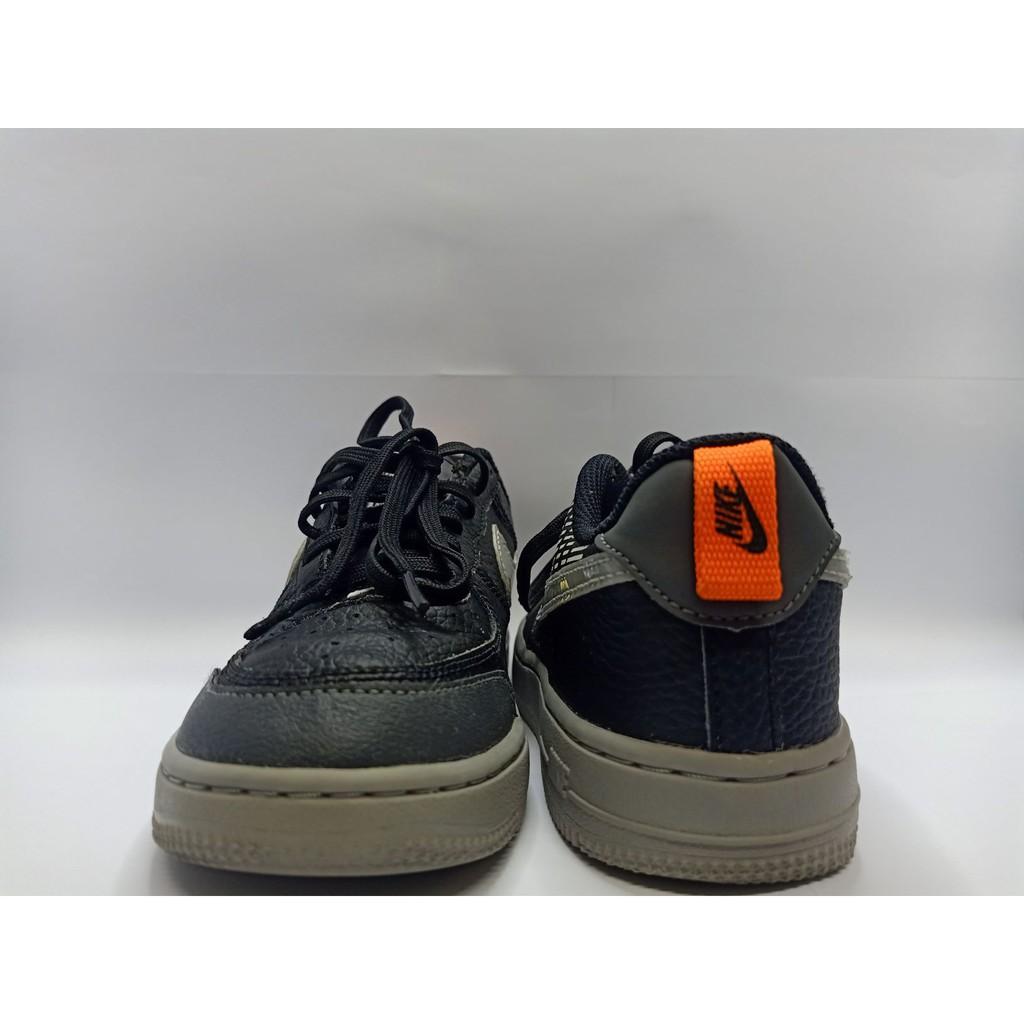 Nike Leather - Black 21cm Kasut Belasahan Kanak-Kanak