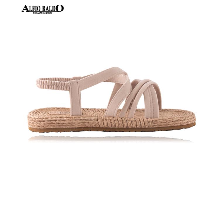 Alfio Raldo Easy Wear Open Toe Biege Sandal