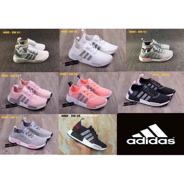 the best attitude db9d4 ea6e0 Adidas - 8 Colour NMD R1 Sneakers Shoe girl female diamond