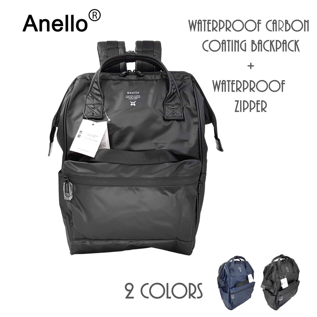 100% Authentic Anello (Limited Edition) Waterproof Backpack  fb85405a0db25