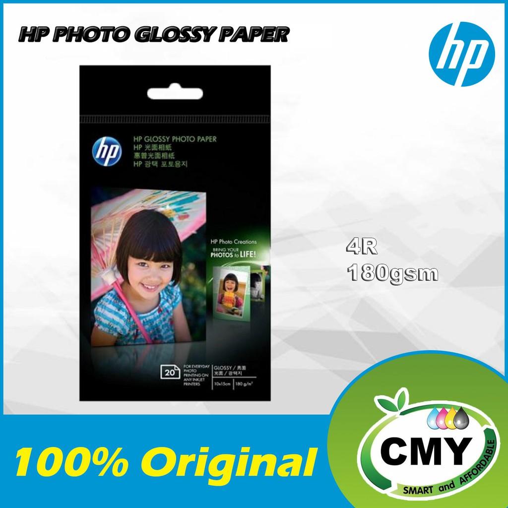 HP Glossy Photo Paper - 4R - CG851A