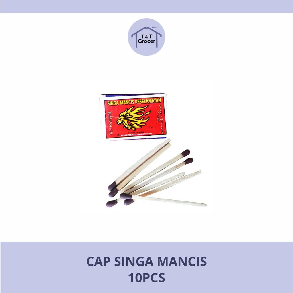 Cap Singa Mancis 10pcs
