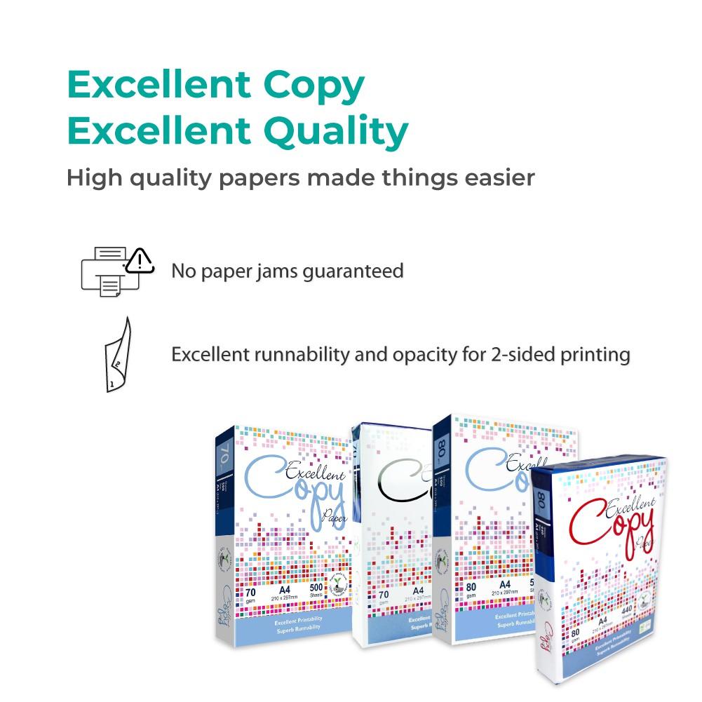 Excellent Copy A4 Paper (80gsm x 440's)