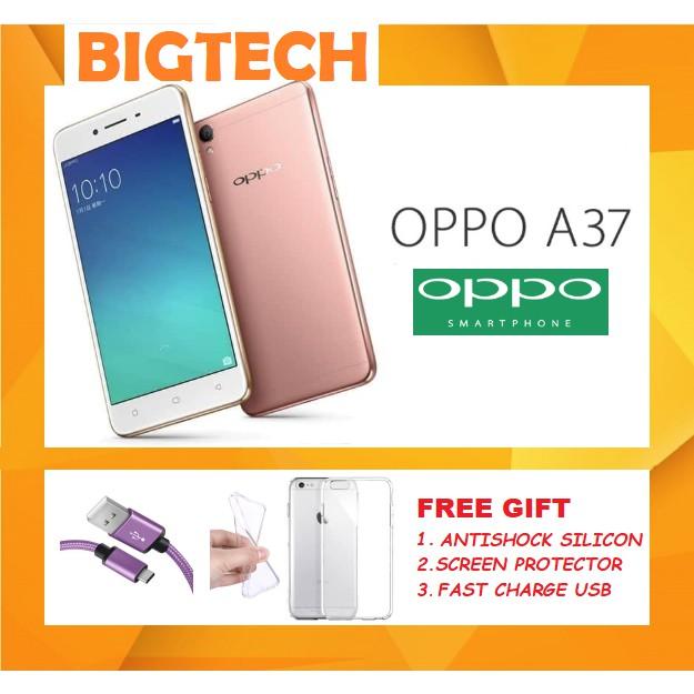 Oppo A37 (2GB+16GB/4G Network/Dual Sim) Original Imported Set