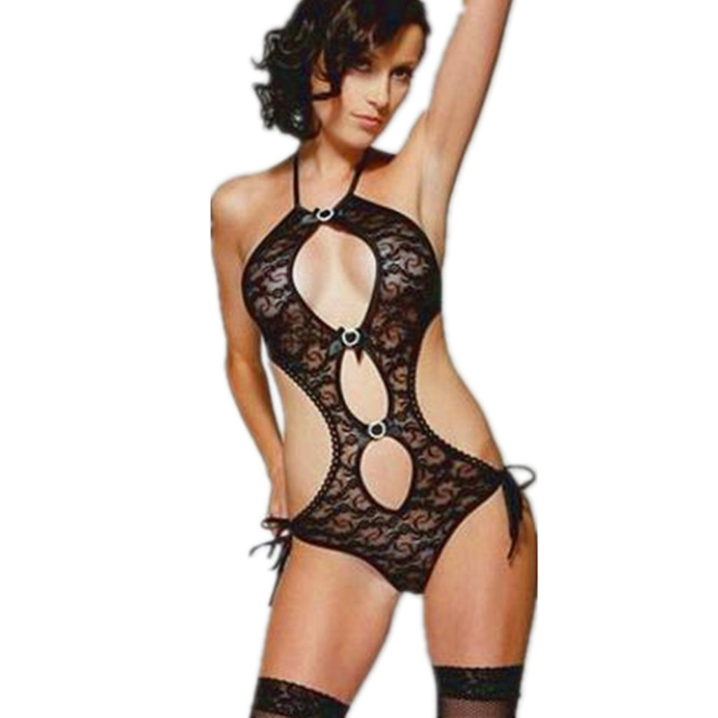 b07e69078cb Fashion Womens Sexy Lingerie Open Bra Perspective Bras and Sets Bikini    Shopee Malaysia