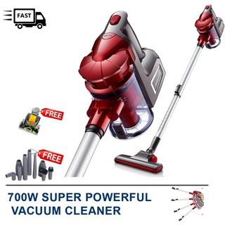 【FREE GIFTS】2in1 Cyclone Strong Portable Suction 700W Handheld Vacuum Cleaner