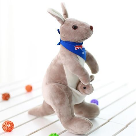 Kangaroo Plush Doll ( Blue )