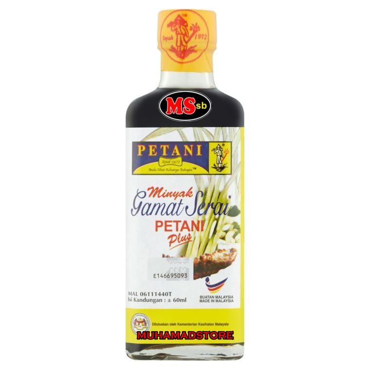 Minyak Gamat Serai Petani (Plus) + BUBBLE WRAP