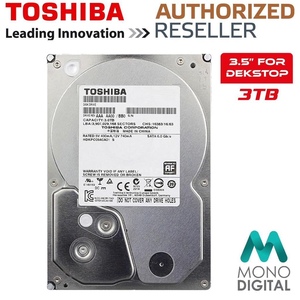 Toshiba 4tb Sata 60gbit S 7200rpm 35 128mb Cache Internal Hard Hardisk Notebook 1tb 25 Inch Drive Hdd Shopee Malaysia