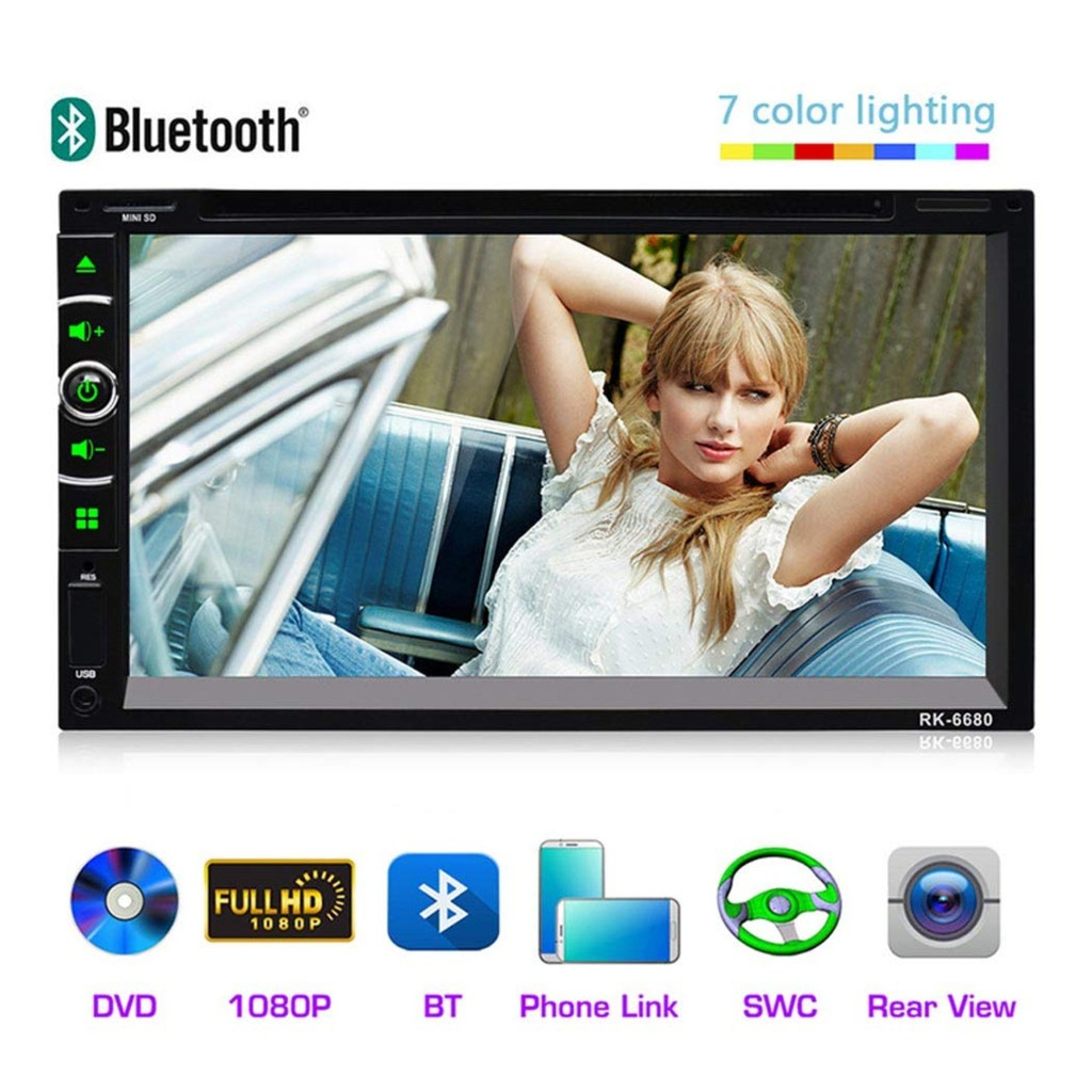 Multifunction vedio player 7.5 HD Display