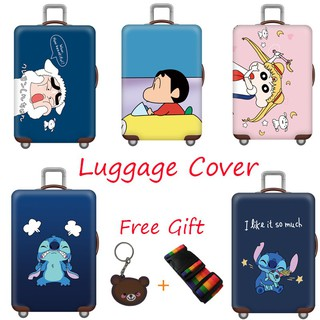Lilo /& Stitch African American Woman Luggage Cover Elastic Suitcase Protector Fits 18-32 Inch